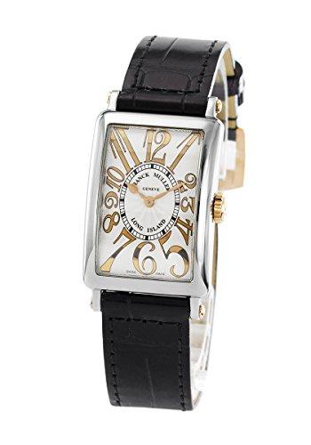 フランク・ミュラー FRANCK MULLER ロングアイランド レリーフ 902QZ REL ST G ホワイト文字盤 新品 腕時計 レディース (W157506) [並行輸入品]