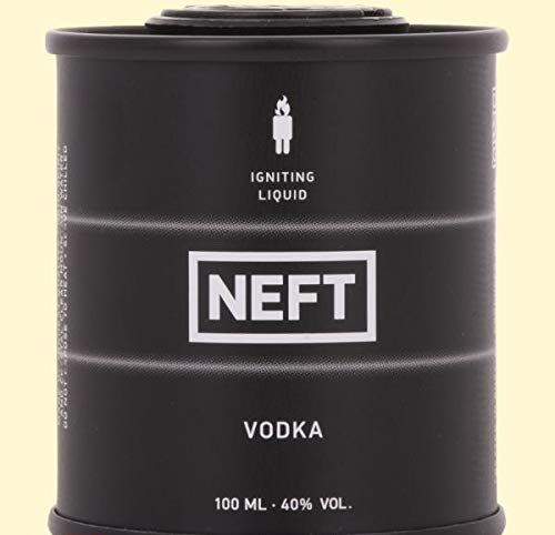 NEFT Black Barrel Vodka - 100 ml