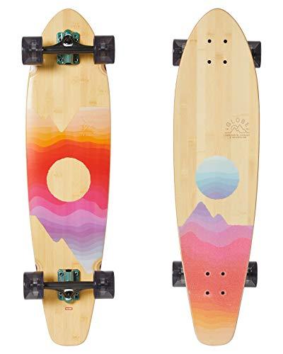Globe Arcadia Longboard Adulte Unisexe Bamboo/Mountains (Multicolore) 36'