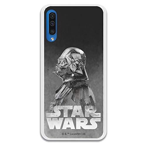 Funda para Samsung Galaxy A50 Oficial de Star Wars Darth Vad
