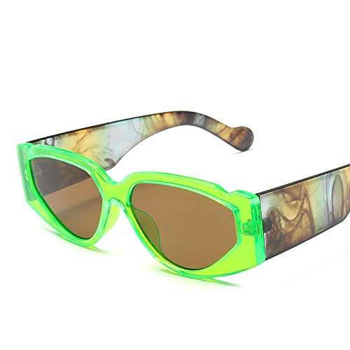 Gafas De Sol con Forma De Ojo De Gato, Gafas De Leopardo Vintage, Gafas con Montura De Pc, Gafas De Sol Vintage para Hombre, Moda De Lujo 3