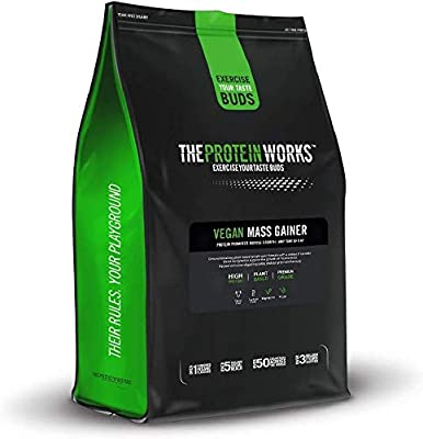 The Protein Works Vegan Mass Gainer, High Calorie, High Protein