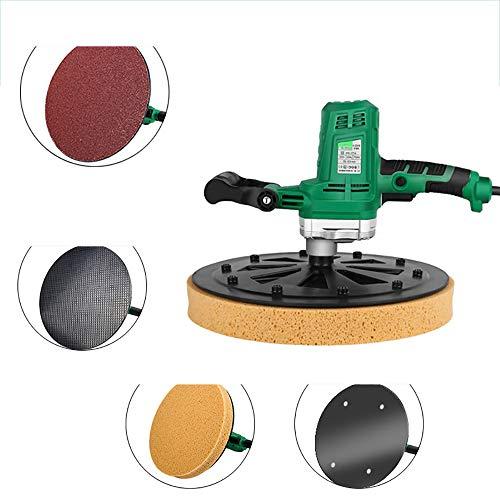 CNRGHS Beton Zement Mörtel Polierer, 220 V Elektrohand Beton Epoxy Zementmörtel Kelle Wand Glättung Poliermaschine, Durchmesser 37,5 cm, Geschwindigkeit 50-100R / MIN