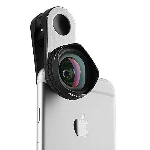 Vinciann Gran Angular HD Profesional Lente Lente 18 mm 110 ° para Smartphone Aukey AK18: Amazon.es: Electrónica