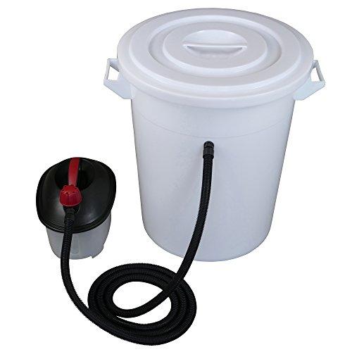 Tolegano Dampfwachsschmelzer mit einem Fassungsvermögen von 75 Liter inkl. Dampferzeuger für den eigenen Wachskreislauf