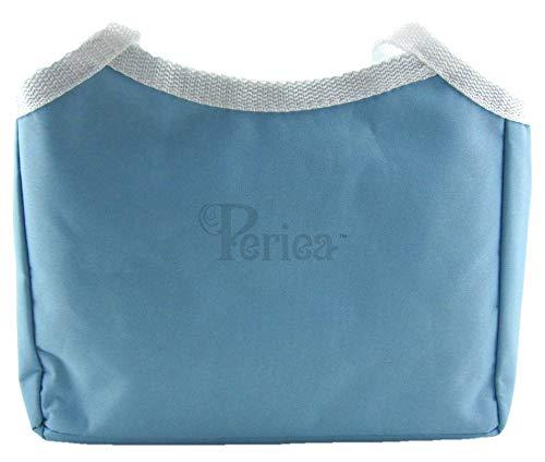 Periea Handtaschenordner, Einlage, Thermosfach für kalte/warme Speisen - Tyler blau