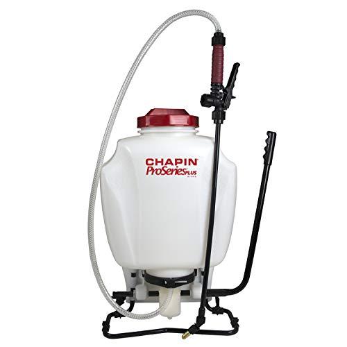 CHAPIN 61802 4-Gallon ProSeries Plus Backpack Sprayer with Bonus Foami, Translucent White