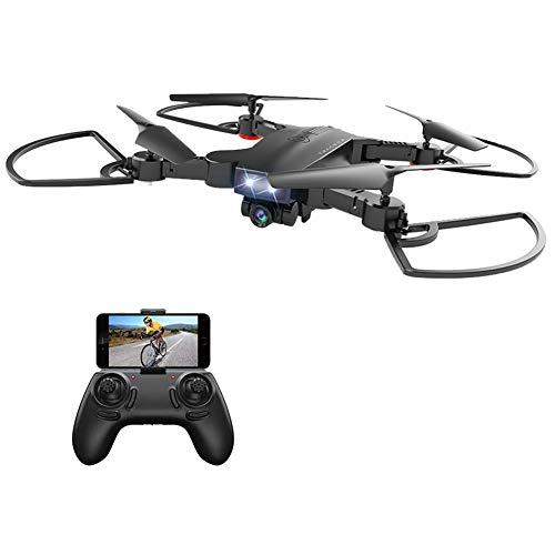 BincaBom Camera Drone FPV WiFi Drone RC Helicopter 3D Flip 120°FOV Live Video 1080P HD One Key...