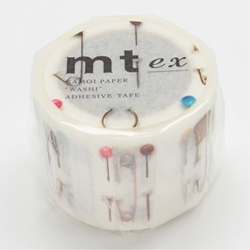 MT Washi tape EX sicurezza PIN PIN vestito R (MTEX1P59)