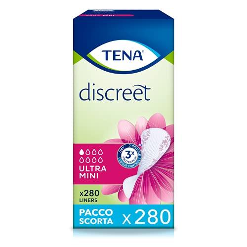 TENA Discreet 761175 Ultra Mini, paquetes de 28 compresas, 10 unidades