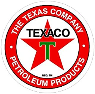 Signs By Woody Texaco Vintage Copy Decal