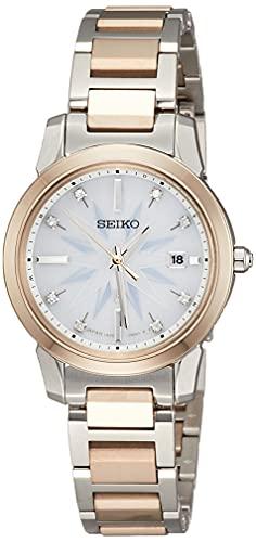 [セイコーウォッチ] 腕時計 ルキア I Collection 2021 Limited Edition SSQV090 レディース シルバー&イエローゴールド