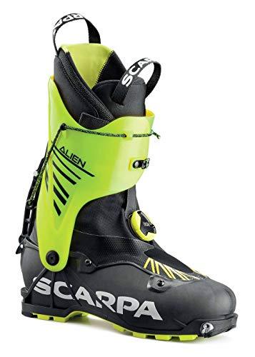 SCARPA Scarponi da Sci Alpinismo Alien, Carbon Black-Yellow, 25.0