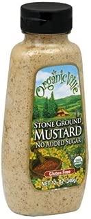 Organicville Organicville Stone Ground Mustard, Organic, 12 Oz, Pack Of 12 by Organicville