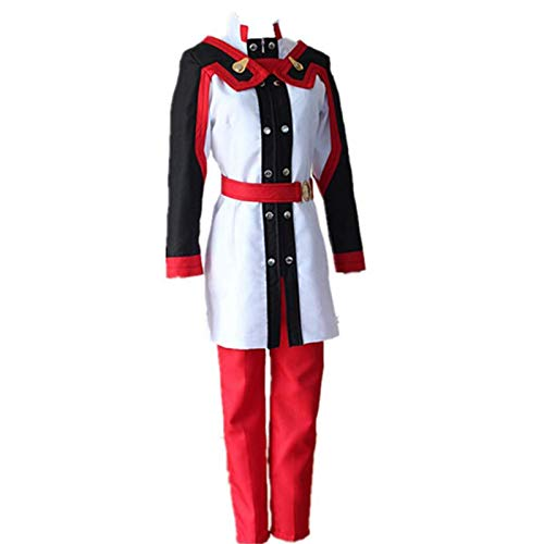 BMDHA Anime Sword Art Online Asuna Yki Traje de Cosplay Uniforme de Fiesta de Juego de Halloween,XL