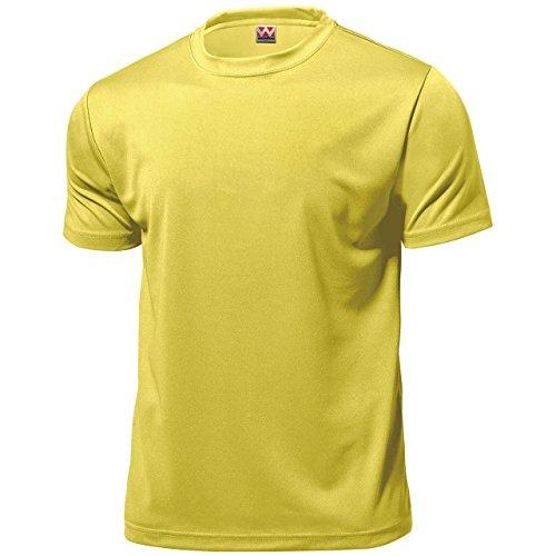 wundou(ウンドウ) 【旧フロリダウインド】ドライ ライト Tシャツ 吸汗 速乾 クリームイエロー P330-23 クリームイエロー XL
