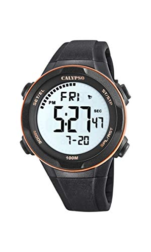 Calypso Watches Orologio Digitale Quarzo Uomo con Cinturino in Plastica K5780/6