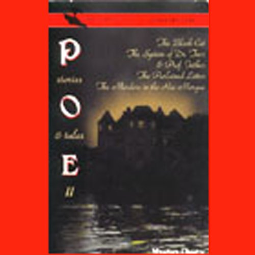 Edgar Allan Poe's Stories & Tales II (Dramatized) audiobook cover art