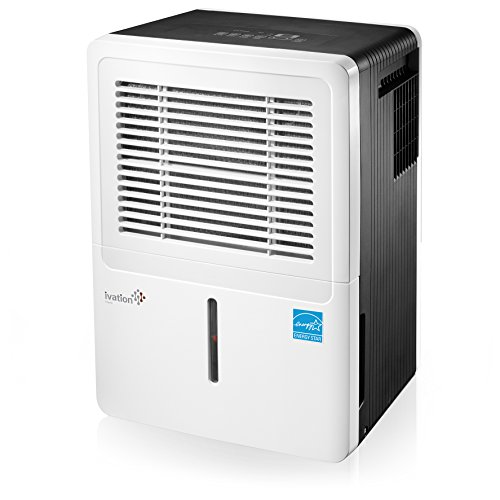 Ivation 50-Pint Energy Star Dehumidifier - Compressor...