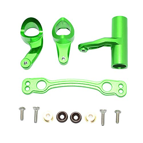 1 Set Green Upgrade Parts Aluminum Front Or Rear Gear Box AR106005//106015//106018 Arrma Kraton 6S BLX