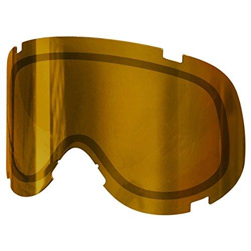 POC Cornea Spare Lens Unisex Skibrille, Bronze/Yellow Mirror, One size