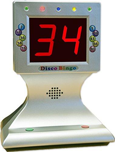 Thomas & Anca Club Supplies Ltd Disco Bingo Electronic Bingo Machine Music & Lights 1-75 & 1-90