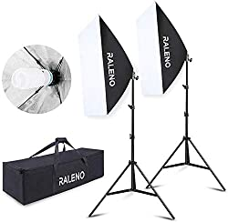Great Lightweight Softboxes Kit
