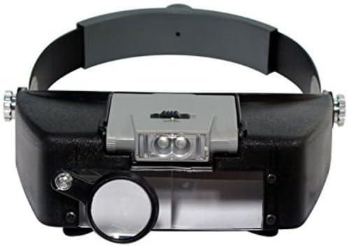 Ranking TOP1 Magnifying Glass Lens LED Light Lamp Visor Jeweler Loupe Overseas parallel import regular item Head He