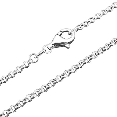 Thomas Sabo Charm Silver Necklace 45cm/2mm X0001-S Charm 12/S