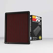 K&N Engine Air Filter: High Performance, Premium, Washable, Replacement Filter: Fits 1999-2019 Chevy/GMC Truck and SUV V6/V8 (Silverado, Suburban, Tahoe, Sierra, Yukon, Avalanche), 33-2129