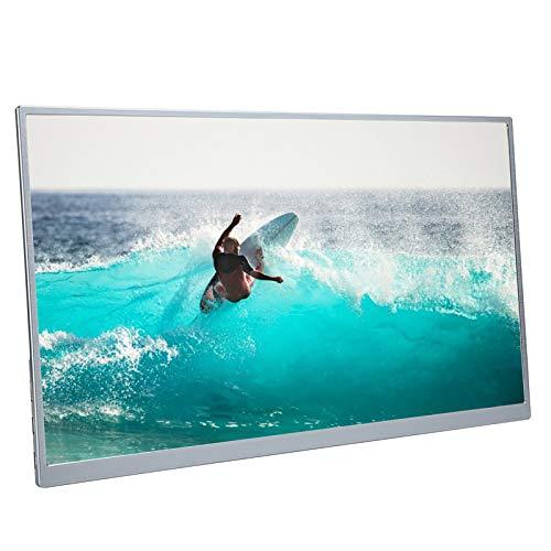 Monitor portatile da 15 pollici, display IPS Full HD 1080P con HDMI di tipo C, monitor da gioco per laptop, PC, telefono, per PS4, per Xbox, per Switch Silver(ME)