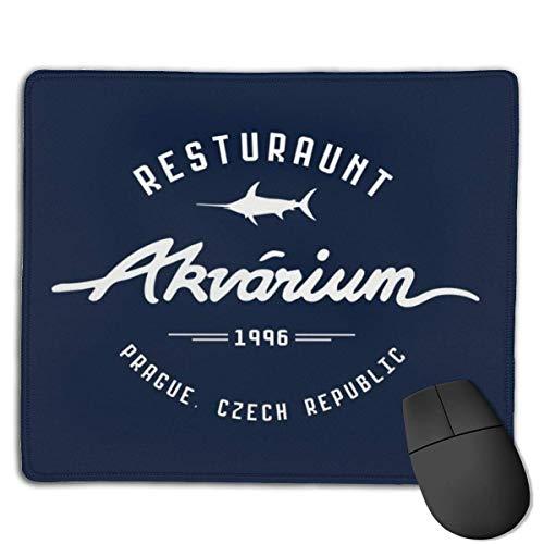 Aquarium Restaurant Mission Impossible Designs rutschfeste Gummibasis Gaming-Mauspads für, 22 cm & mal; 18 cm, PC, Computer. Ideal zum Arbeiten oder Spielen