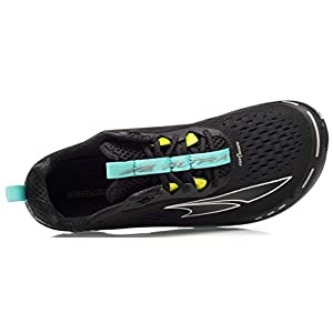 ALTRA Women's Torin 4 Road Running Shoe, Black/Teal - 8.5 M US