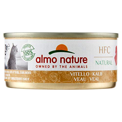almo nature HFC Natural 70 g - Veau - 24 x 70 g