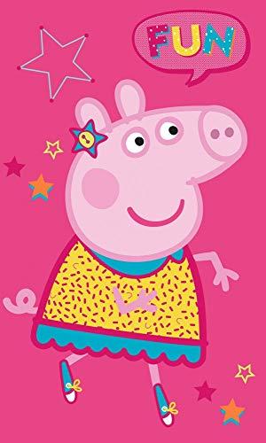 Carbotex Peppa Pig PP191170-R - Toalla infantil (30 x 50 cm)