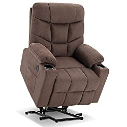 top 10 lift chair recliner Mcombo electric power lift reclining chair for the elderly Sofa, 3 positions, 2 side pockets, cup …
