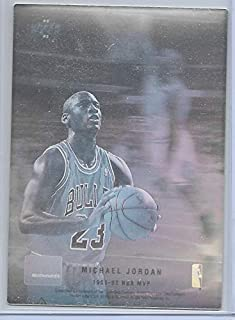 1992-93 Upper Deck McDonalds' Basketball Michael Jordan No # Hologram Card