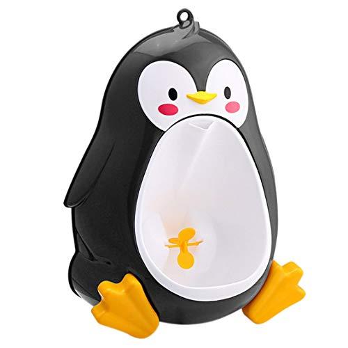 Jessicadaphne Cartone Animato Carino Pinguino vasino orinatoio Toilette in Piedi orinatoio Bambini pipì Trainer per Ragazzi da 8 Mesi a 6 Anni
