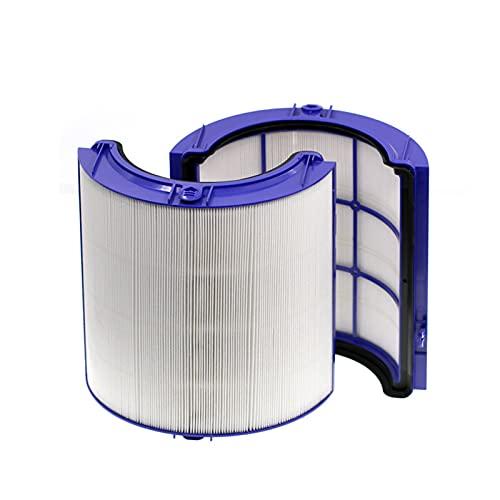 XXHDEE Luft Reiniger Echtes HEPA Filter Set, Ersatz HEPA Filter Kompatibel mit Dyson HP04 TP04 DP04 TP05 HP05 Pure Cool Luftreiniger Lüfter & Innerer Aktivkohlefilter (Color : HEPA)
