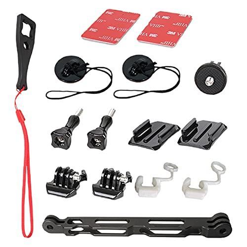 Accessori di montaggio per casco da sci, moto, snowboard, per Insta360 One X2, One R e GoPro Max