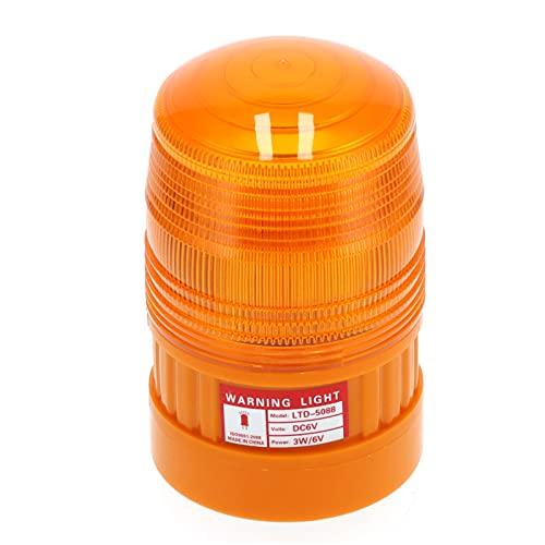 Luz de advertencia, luz estroboscópica LED de emergencia con base magnética para seguridad vial
