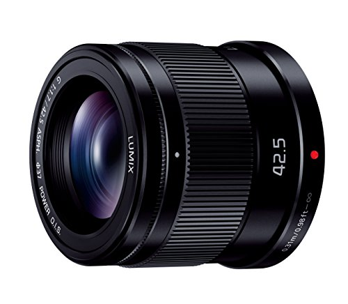 Panasonic replacement lens LUMIX G 42.5mm F1.7...
