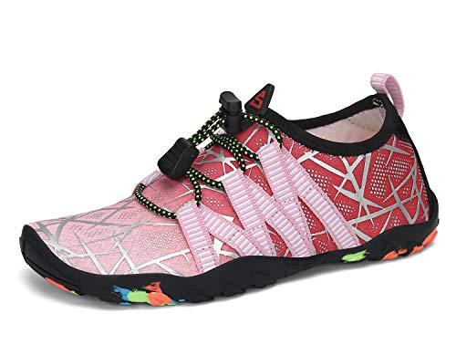 SAGUARO Zapatos de Agua Escarpines para Niños Secado Rápido Zapatillas de Playa Piscina...