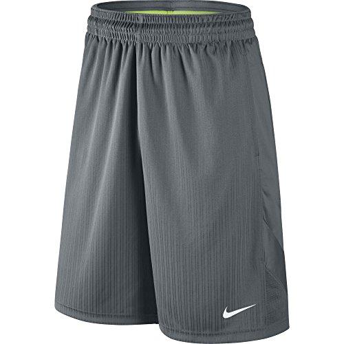 NIKE Men's Layup 2 Shorts, Cool Grey/Cool Grey/Cool Grey/White, X-Large