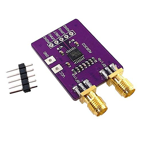 AD8302 Amplitude Phase RF Detector Module IF 2.7GHz Phase Detection Wideband Logarithmic Amplifiers Board for Arduino