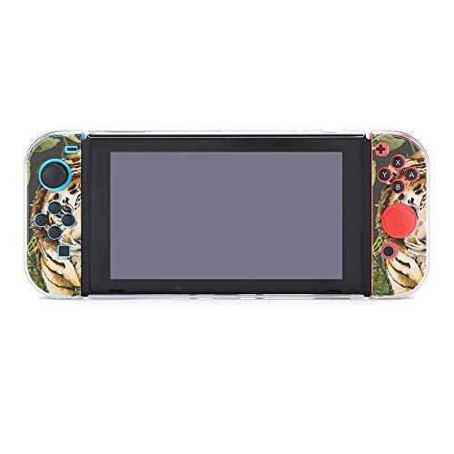 Funda para Nintendo Switch Tiger Green 5 piezas Funda protectora compatible con Nintendo Switch Game Console