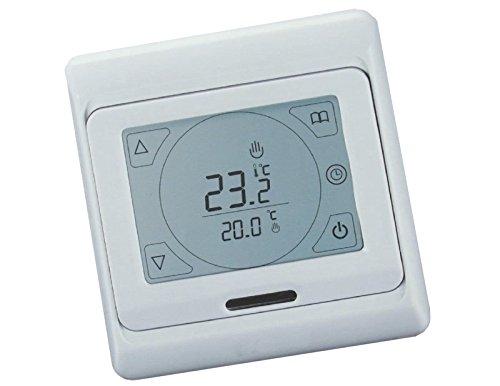 SM-PC®, Raumthermostat Thermostat programmierbar mit Touchscreen, programmierbar, Schaltleistung max. 3600 Watt #695