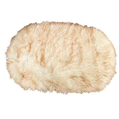 QUUYMat Perro Cojín Manta, Súper Caliente Suave Mullido Sherpa Fleece Felpa Mantas y Perros Lanza Cama Lavable para Mascotas colchón Temperatura Muy Suave de la Cubierta de la Manta
