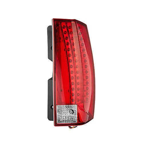 Epic Lighting OE Style Replacement Rear Brake Tail Light Assembly Compatible with 2007-2014 Escalade Escalade ESV Escalade Hybrid [ GM2801232 25895483 22837840 ] Right Passenger Side RH