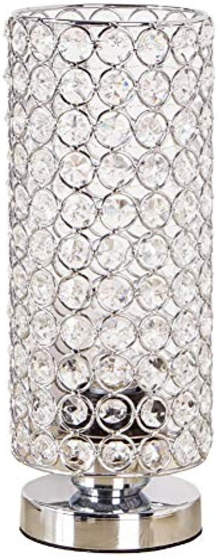 JYTD Tischleuchte Led Kristall Tischlampe Moderne Schnheit Schreibtischlampe Für Zuhause Schlafzimmer Wohnzimmer Schrank Dekoration Nachttischlampe
